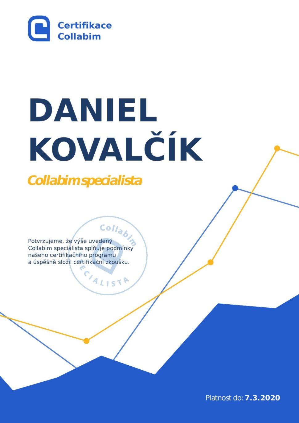 Collabim Specialista Daniel Kovalčík