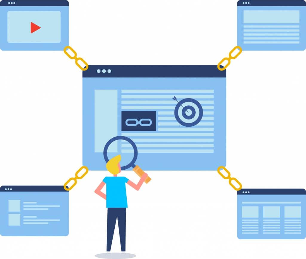 link building - budování zpětných odkazů